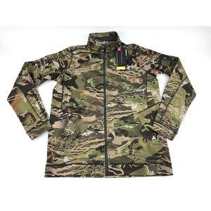 Under Armour Mens Threadborne Full Zip Jacket Sz M
